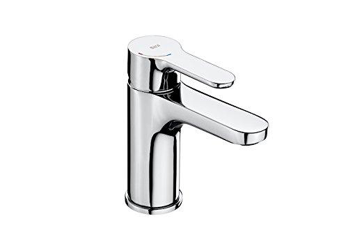 Roca A5A3J09C00 – Mezclador monomando para lavabo con enganche para cadenilla, cold start