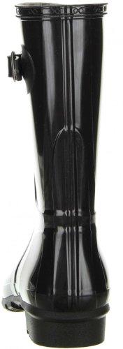 G&G Damen Gummistiefel Regenstiefel schwarz Schwarz