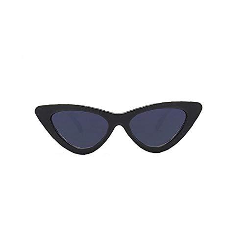 OMMO LEBEINDR Fashion Style Katzenaugen-Sonnenbrille Wiederverwendbare Vintage-Kunststoff-Rahmen Clout Gläser Für Frauen-Frauen-Sonnenbrille