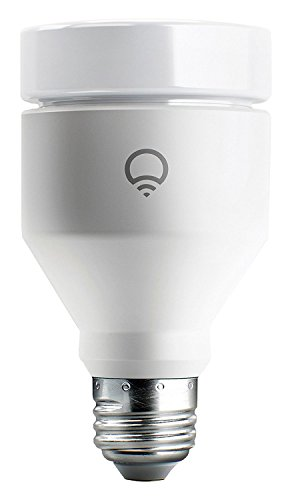 LIFX (E27) Wi-Fi Smart LED Light Bulb, adjustable, multicolour, dimmable, no hub required, works with Alexa, Apple HomeKit and the Google Assistant