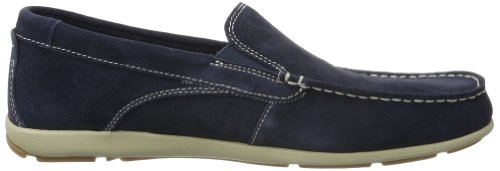 Rockport CAPE NOBLE 2        NAVY WSH SDE V77711 Herren Mokassins Blau (Navy)