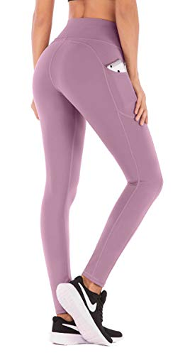 IUGA Yoga Pants with Pockets, Tummy Control, Workout Running Leggings with Pockets for Women