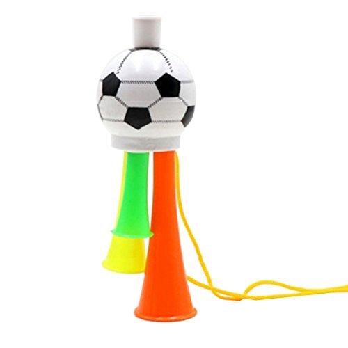 STOBOK Fußballspiel Lautsprecher Fußballfans Trompete Spiel Party Konzert Horn Kunststoff Ornamente
