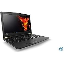 """Lenovo Ideapad Y520-15IKBN - Ordenador Portátil Gaming DE 15.6"""" FullHD (Intel Core i7-7700HQ, 16 GB de RAM, 1 TB de HHD + 256 GB de SSD, Nvidia GTX1050-4 GB Windows Home 10) - Teclado QWERTY español"""