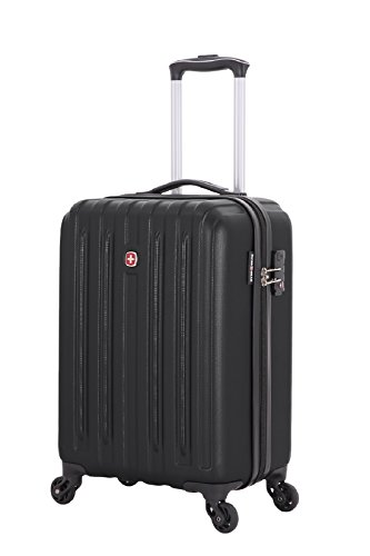 Swiss Gear Polycarbonate 14 inches Black Hardsided Cabin Luggage (SW30000202154)