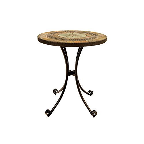 Europa Leisure Villena Bistro Table - 60 x 60 x 73 cm - Earthy Tones