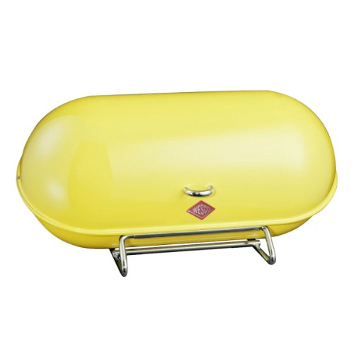 WESCO Breadboy Lemon Yellow Bread Bin