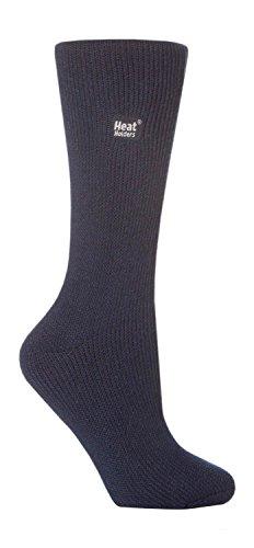 Heat Holders - calze donna calzini termici inverno invernali in diversi 25 colori - 37-42 eur, Blu Marina, 34-39 eur