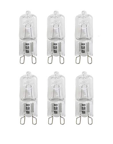Vstar G9Halogen Glühbirne, 40Watt 120-volt Sockel G9Halogen Leuchtmittel 40.0 wattsW, 120.00 voltsV -