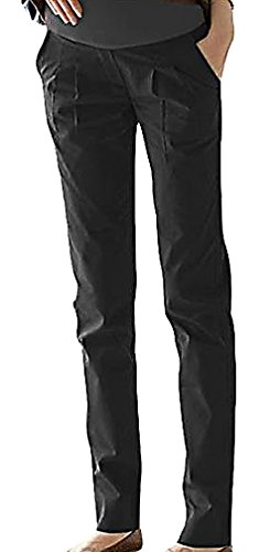 flora-womens-maternity-full-panel-regular-fit-long-pants-pleat-detail-pocketed-black-12-manufacturer