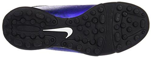 Nike Jr Mercurial Vortex Ii Cr Tf, Chaussures de Foot Mixte Bébé Bleu - Azul (Dp Ryl Bl / Mtllc Slvr-Rcr Bl-Bl)