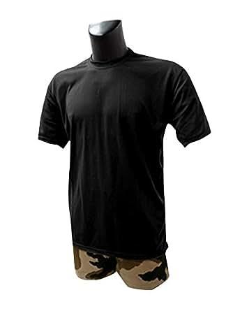 T-shirt militaire COOLMAX © Noir - Noir, XXL