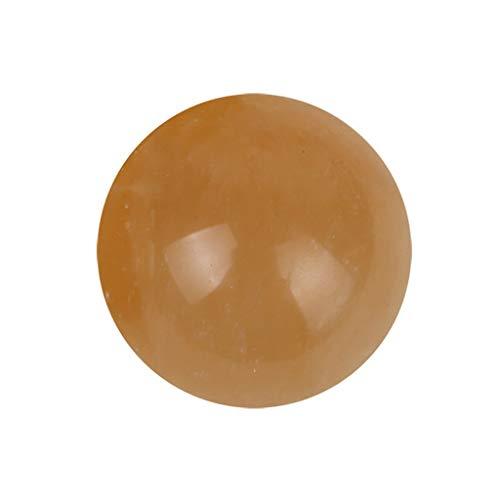 Perline per collane✧✧chshe ✧✧chshe quarzo citrino naturale di 1pcs 40mm, sfera di cristallo healing gemma della sfera, decorazione dei monili