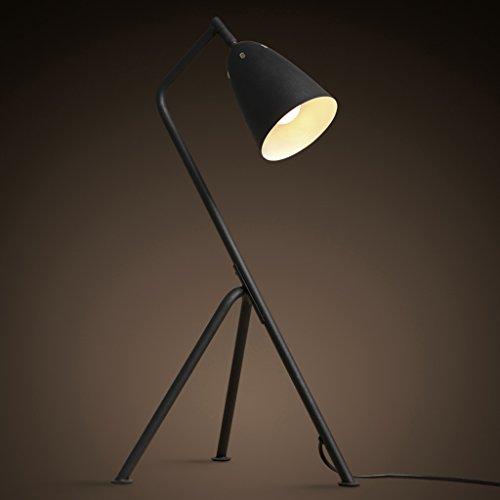 homelx Loft Retro industriellen Stil kreative Stativ Leselampe Wohnzimmer Schlafzimmer Nachttisch Trident Schreibtischlampen, Eisen Lampe, kreative Lampe, 23,64