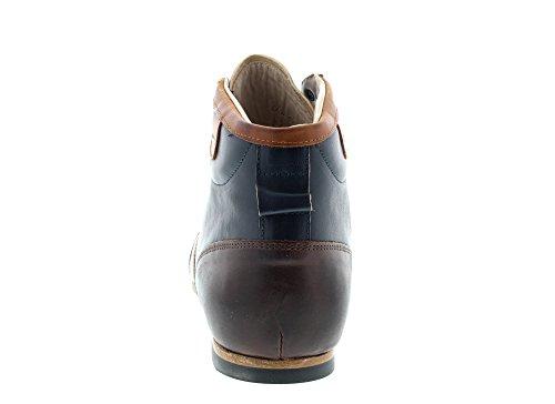 Zeha-Berlin Sneakers Carl Häßner Derby 808.0543 Navy Navy Cognac