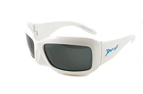 Baby Banz 00341 Sonnenbrille JBanz, für Alter von 4 bis 10 jahre, UV400, weiß