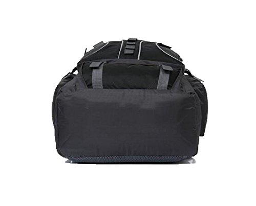 Outdoor Rucksack 60L Bergsteigen Tasche Schulter Reise Ranzen Black