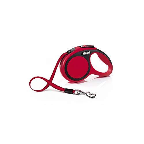 flexi New Comfort Gurt XS 3 m rot für Hunde bis 12 kg