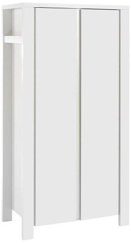 Schardt 06 647 52 02 - Milano weiß 2- türiger Kleiderschrank