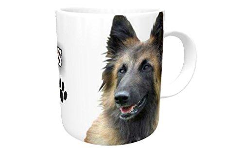 belge Belgique Dog Mug en céramique 295,7 ml # 29