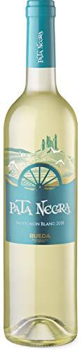 Pata Negra Sauvignon Blanc D.O Rueda Vino Blanco - 6 botellas x 750 ml - Total: 4500 ml