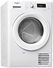Sèche linge Condensation Whirlpool FTCM118XB1FR - Condensation - Chargement Frontal - Départ différé - Indicat