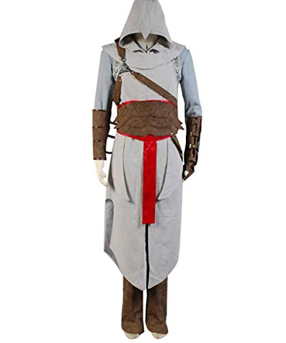 Huiyemy Assassin's Creed Revelation Altair Cosplay Kostüm L (Für Erwachsene Assassin's Creed Ezio Kostüm)