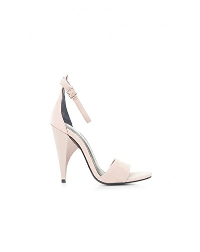 Kendall and Kylie Suede Ankle Strap Sandals Blush