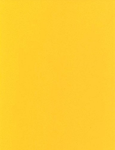 KEVKUS Mantel Hule Producto Metro Colores Lisos Amarillo