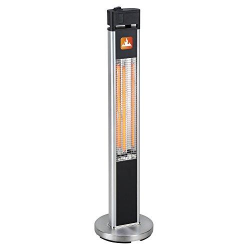 Therminator® Stand-Heizstrahler Elektro 1600 | Indoor & Outdoor | 1.600 Watt Heizleistung | moderner Carbon-Heizstab für sofortige Wärme auf Knopfdruck -