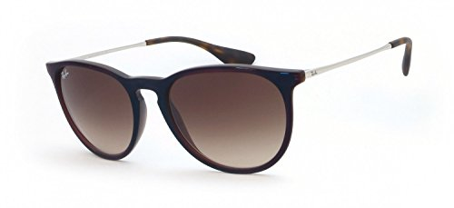Ray-Ban Rayban Unisex-Erwachsene Sonnenbrille 4171 Transparent Brown Sp Blue/Browngradientdarkbrown, 54
