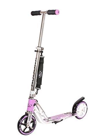 HUDORA Big Wheel 180 Scooter, lila - Tret-Roller - 14746