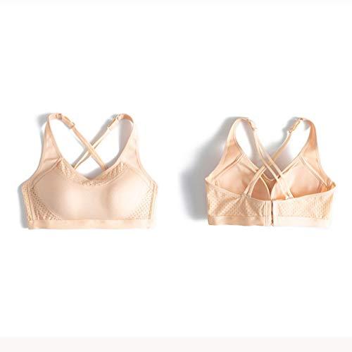 Damen Bustier Modern Cotton, sportlicher Bralette aus weichem Baumwoll-Mix, elastisches Unterbrustband, Racerback, Größen: M - XXL