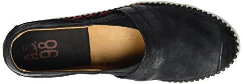 A.S.98 Similar, chaussons d'intérieur femme Schwarz (Nero)