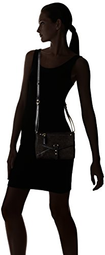 Petite Mendigote - Luke, Borsa a tracolla Donna Noir (Noir (Black))