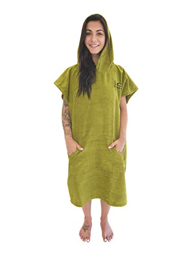 COR Surf Surfen Wechseln Handtuch Robe Mit Kapuze (COR Green)