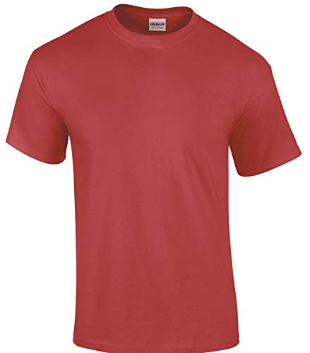 Gildan 2000 Ultra T-Shirt Gr. XX-Large, Braun - Heather Cardinal -