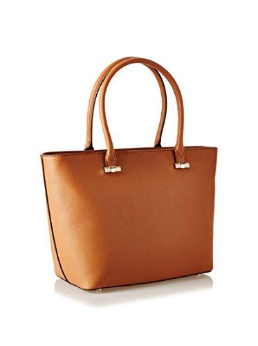 Trussardi Jeans Donna Borsa 75B496 61 Borsa saffiano Cognac