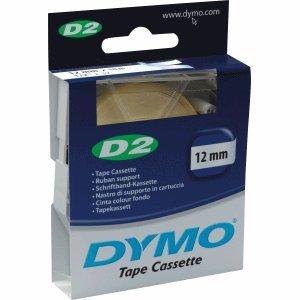 D2 12 (Dymo 61210 Etikettenband 12mm/10 transparent für 6000/9000/PC-10)