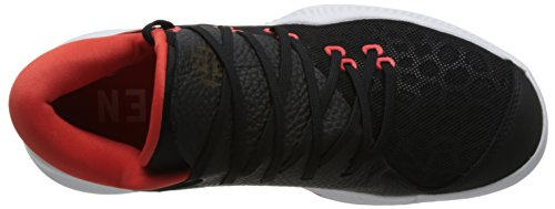 adidas Herren Harden B/E Basketballschuhe Schwarz (Core Black/ftwr White/hi-res Red S18)