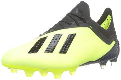 adidas Herren X 18.1 Fg Fußballschuhe, Gelb (Amasol/Negbás/Ftwbla 001), 41 1/3 EU -