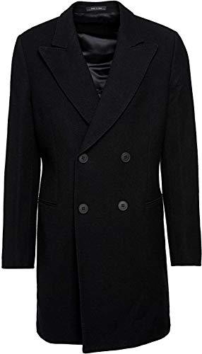 Emporio Armani Herren Jacke Mantel, Farbe: Schwarz, Größe: 54
