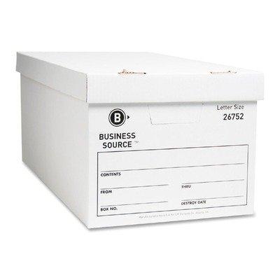 Business Source - Storage Boxes, Ltr, 500 lb, 12