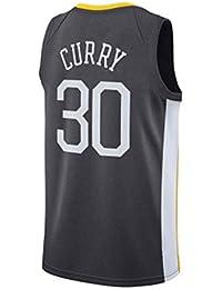 126d3d4148 Holdzhu Camisetas De Baloncesto para Hombres Y Adolescentes - Nueva  Temporada Golden State Warriors Curry 30