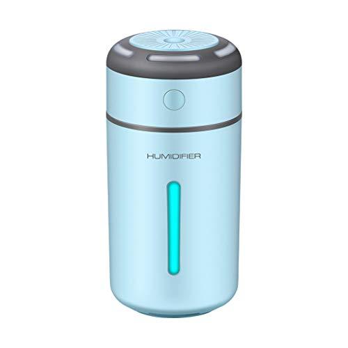 STRIR Humidificador Aromaterapia,230 ML Difusor de Aceites Esenciales de Vapor Frío, 7-Color LED, Hogar, Oficina,Bebé,Dormitorio,Etc (Azul)