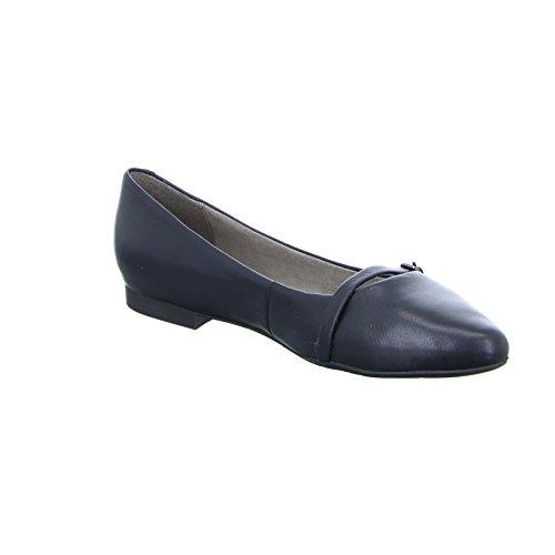 Tamaris 1-24234-28 femmes Ballerine Cuir noir
