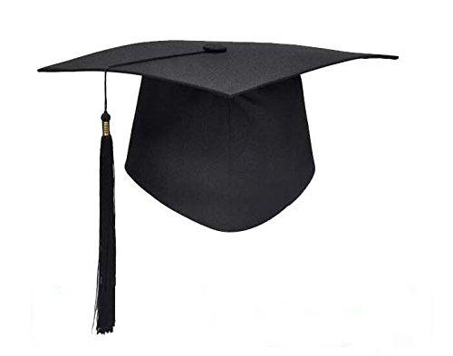 thematys Doktor-Hut Akademiker Absolventen-Hut - Kostüm für Erwachsene -