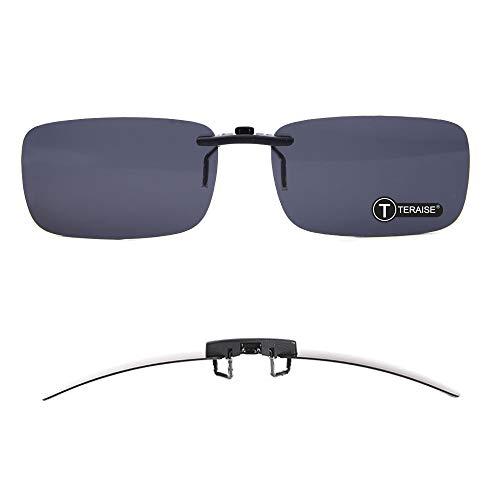 Clip de gafas de sol-- Función de sombreado. Perfectamente resolver el problema de las personas miopes. Característica de producto: *BAJO COSTO. Este clip de polarización funciona igual que las costosas gafas de sol NORMAL del mercado. * Hecho de len...