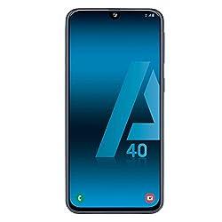 Samsung Galaxy A40 Negro Móvil 4g Dual SIM 5.9'' Super Amoled Fhd+/8core/64gb/4gb Ram/16mp+5mp/25mp
