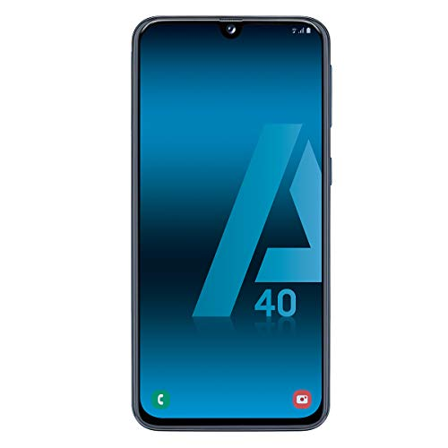 Samsung Galaxy A40 Negro Móvil 4g Dual Sim 5.9'' Super Amoled Fhd+/8core/64gb/4gb Ram/16mp+5mp/25mp
